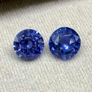 Unheated Sapphire Pair